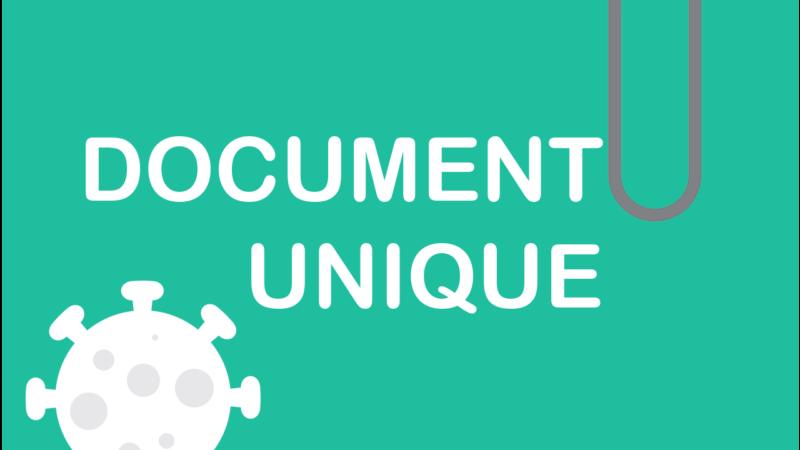 Remboursement Covid-19 : avez-vous pensé à votre Document unique ?